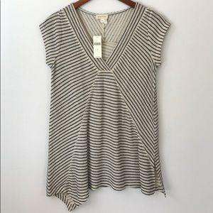 NEW Anthro Meadow Rue shirt, Sz XS.